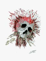 I've smashed my skull by DanielOlivera