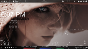 Rainmeter: Project i'll be watching you by juliusdalelun
