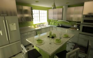 Remodeling of Parents Kitchen by MikeJensen