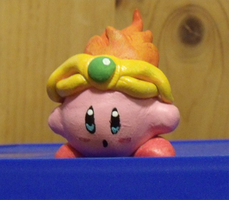 Fire Kirby by NerdSculpt