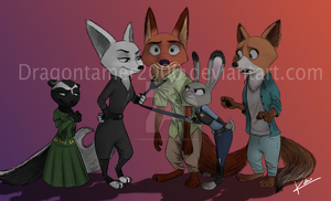 Commission for DragonTamer2000 by KungFuFreak07