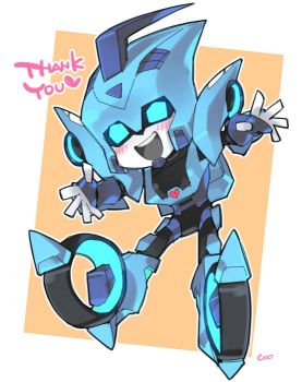 chibi Blurr! by coo-coo-coo