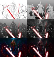 Stepbystep The T'vian Side of the Force by suppa-rider
