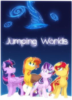 Jumping Worlds | Comic Cover by HiccupsTheNoodle