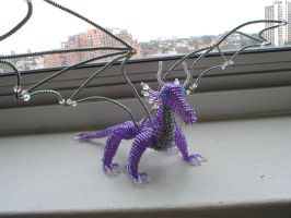 Purple Beaded Dragon by jardan