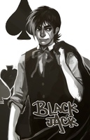 C: Black Jack for coolbeanjeans by feyuca
