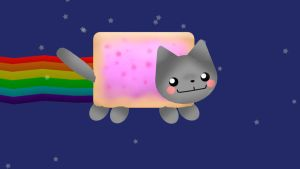 Nyan Cat by MissingPixieSticks