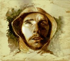 Saint Francis of Assisi sketch by SILENTJUSTICE