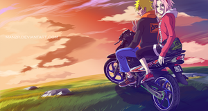 NaruSaku : Twilight by manzr