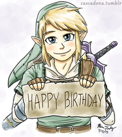Birthday Link by Cascadena