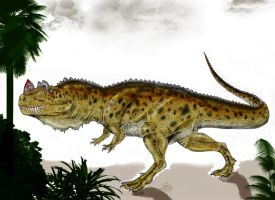 Ceratosaurus the horned beast by Durbed