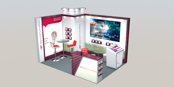 Stand CapGemini by Itsmil