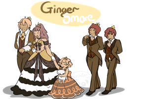 GingerSmore Family by GingerQuin