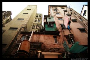 Slums of Hong Kong by justduy