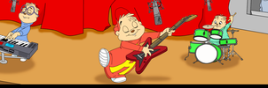Alvin and the Chipmunks - Band Practice by FireFoxOmicron