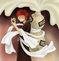 Gaara of the Sand by AngelofDeathz