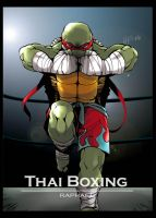 TMNT Sport Series-Raph by Rcaptain