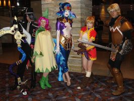 Chrono Cross Group by DDRzukamori