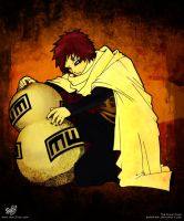Gaara - Kazekage - Colors by Abo3lian