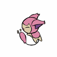 Skitty tail chasing gif by Kristallschweif