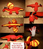 Crochet Dragon:DragonMaster626 by FeatheredDragon
