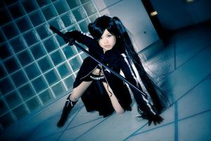 PMX 2011 - Black Rock Shooter by MikeRollerson