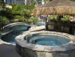 Tropical pool landscaping by Vlad-Man