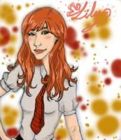 Miss Evans by DrButterfly-TheCHAOS