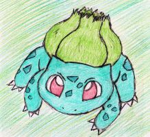 1 - Bulbasaur by JacobMace