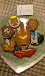 Overwatch gingerbreads by SolidStateScouter