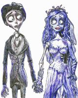 Corpse Bride by binkaminka