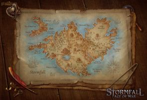 Map of Stormfall by inSOLense