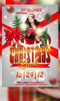 Christmas Bash Flyer Template by LordFiren