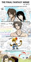 Final Fantasy MEME by karulox