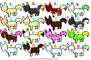 Canine Adopts 7- OPEN by PrussianAdoptables