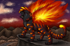 Set Fire To The Heavens by Purrlstar