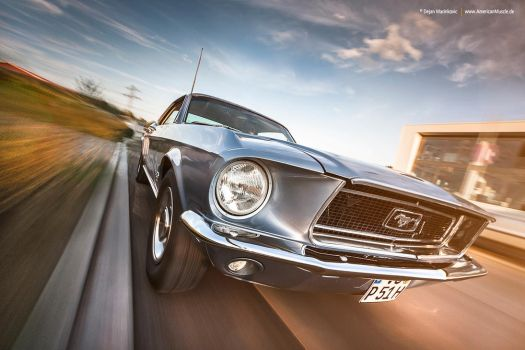 1968 Mustang Coupe by AmericanMuscle