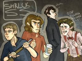 superwholock by SherlockShiverNShake