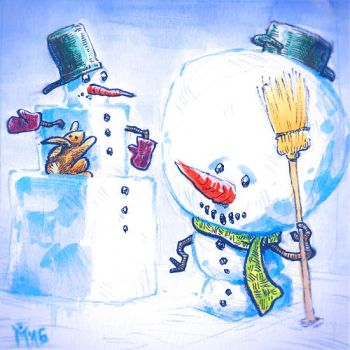 Snowmans by MarcelDokoupil
