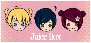 juice box: characters. by UsoIsLove