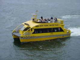 Sea Taxi NYC by ArtieWallace