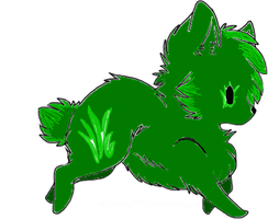 Grass Wolf Adoptable by Prettyxmouse