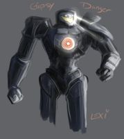 Pacific Rim: Gipsy Danger by Succubii