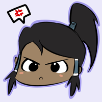 Angry Korra is Angry by WaywardDoodles