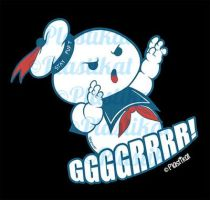 Stay Puft Marshmallow Man (Ghostbusters) by Plastikat