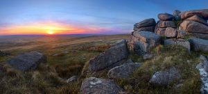 Sunset at Ger Tor by Alex37