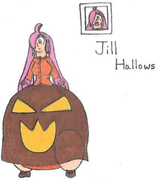 Jill Hallows' stance by Dimensional-Expander