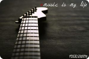 Music is my life by Pencilcrayon14
