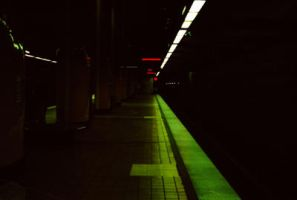 Subway station by 17thletter