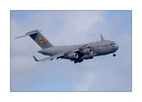 Globemaster III Dirty Pass by OpticaLLightspeed